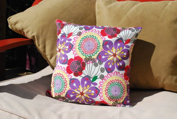 40 X 40 Funky Flower Decorative Pillow Cover By InLifeCreate 4040 Stunning Funky Decorative Pillows