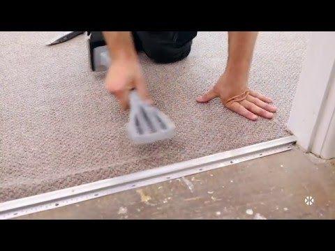 Menards How To Install Carpet Youtube Carpet Installation