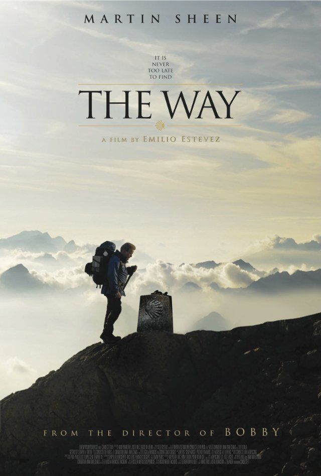 The Way. Liikuttava ja hauska elokuva miehen vaelluksesta läpi Santiago de Compostelan pyhiinvaellusreitin.