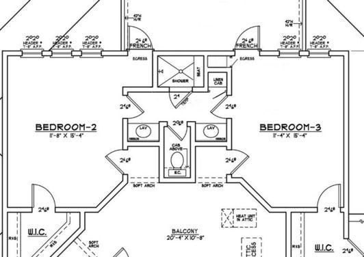 Jack And Jill Baths Houzz Jack And Jill Bathroom Bathroom Floor Plans Bathroom Plans