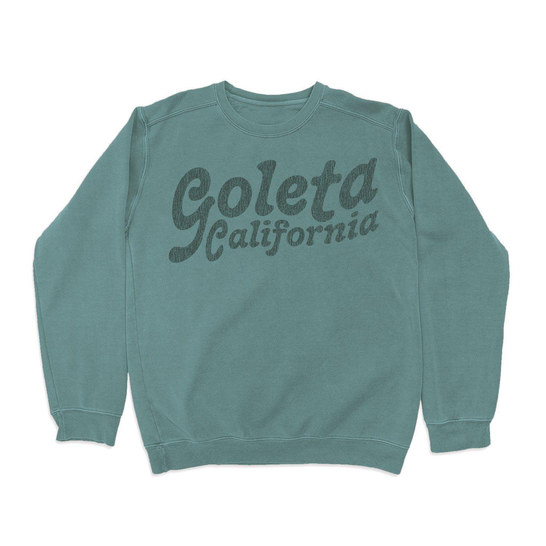 Goleta Throwback Pigment Crew - Small