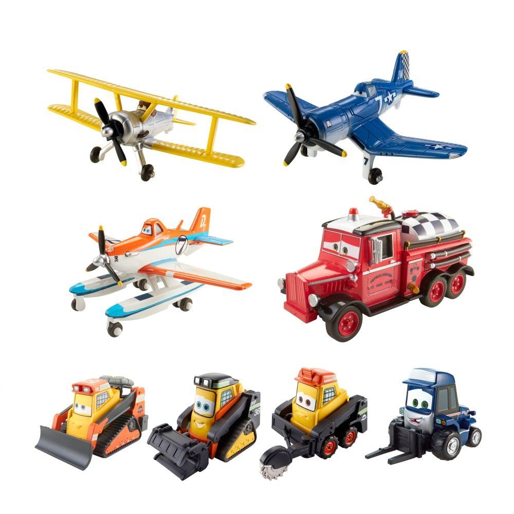 Figure 8 Cars For Sale: DISNEY Planes Fire & Rescue 8 Vehicle Gift Set $35.99 Sale