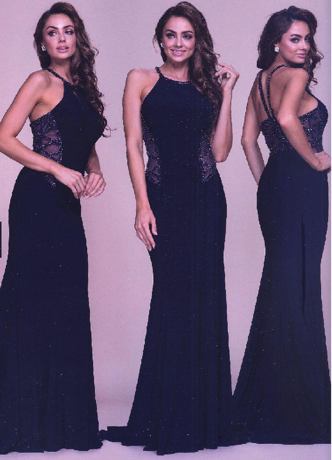Prom dresses evening dresses by anabelucbrueanaucbruelong beaded