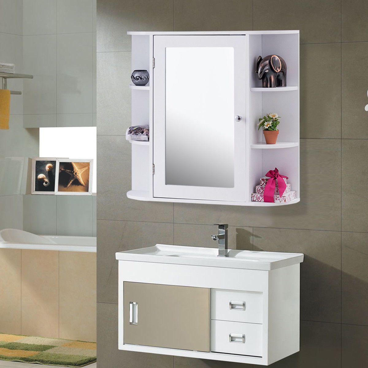 Icon2 Luxury Designer Fixures Giantex Multipurpose Mount Wall Surface Bathroom Stora Bathroom Storage Cabinet Bathroom Storage Bathroom Mirror Storage [ 1200 x 1200 Pixel ]
