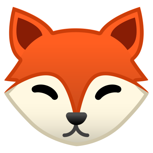 Imagenes De Caras De Zorros Animados Busqueda De Google Fox Face Emoji Clipart Face Icon