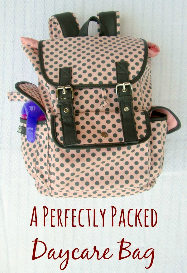 How to pack the perfect daycare bag for the baby or infant of a working mom a4ed900f4c