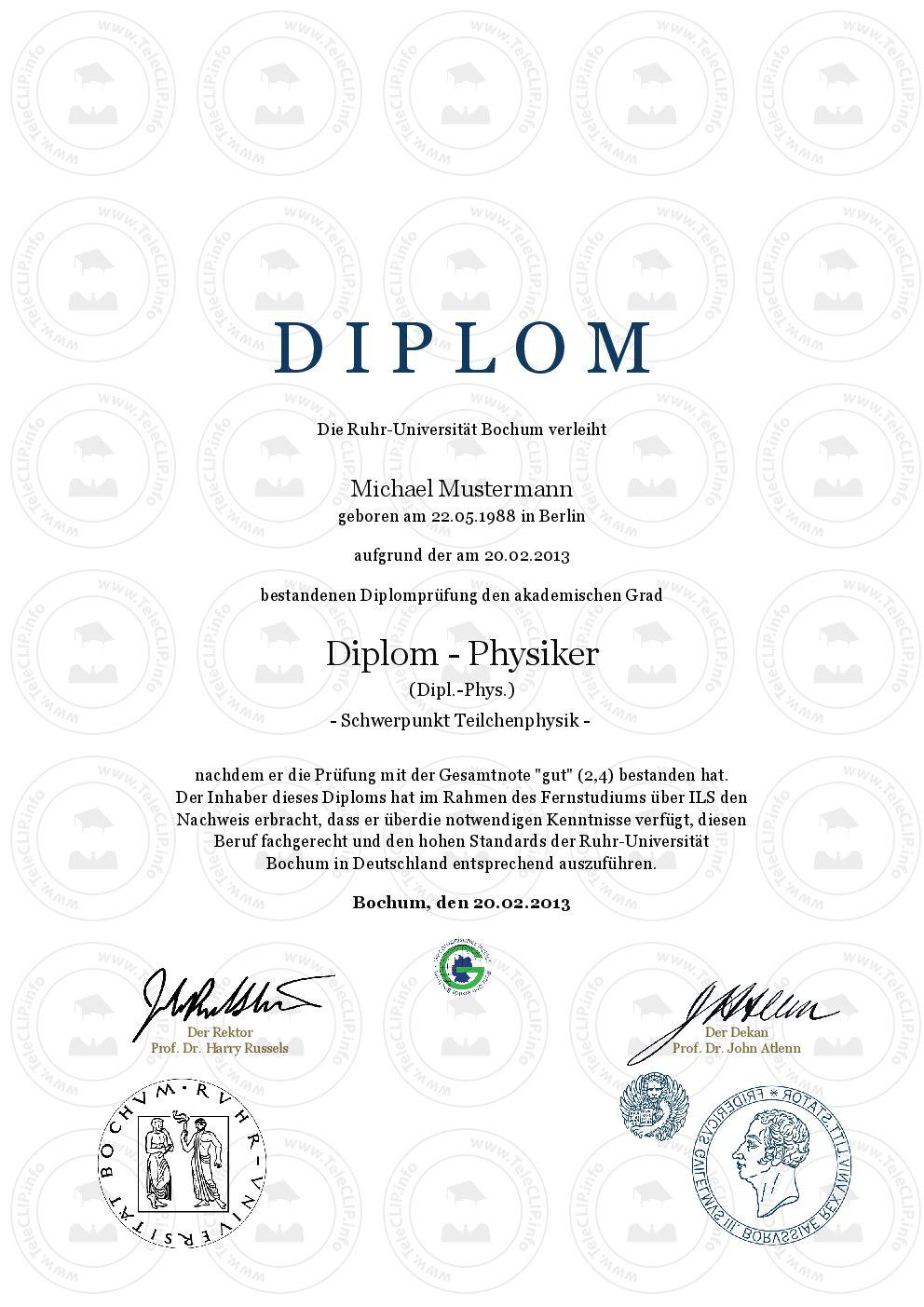 Diplom Urkunde online erstellen, gestalten und aus… | www.etwas.info ...