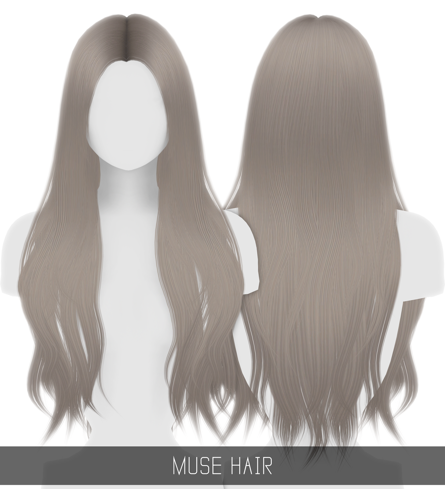 MUSE HAIR Sims 4 Pinterest