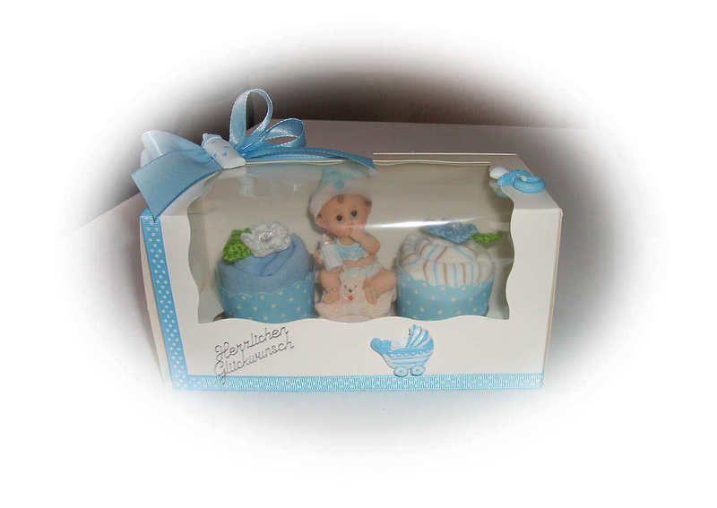 Eine süße Geschenkbox für einen Jungen, wenn man eine Kleinigkeit sucht oder etwas kleines zusätzlich zu Geld verschenken will. Zur Taufe oder Geburt.