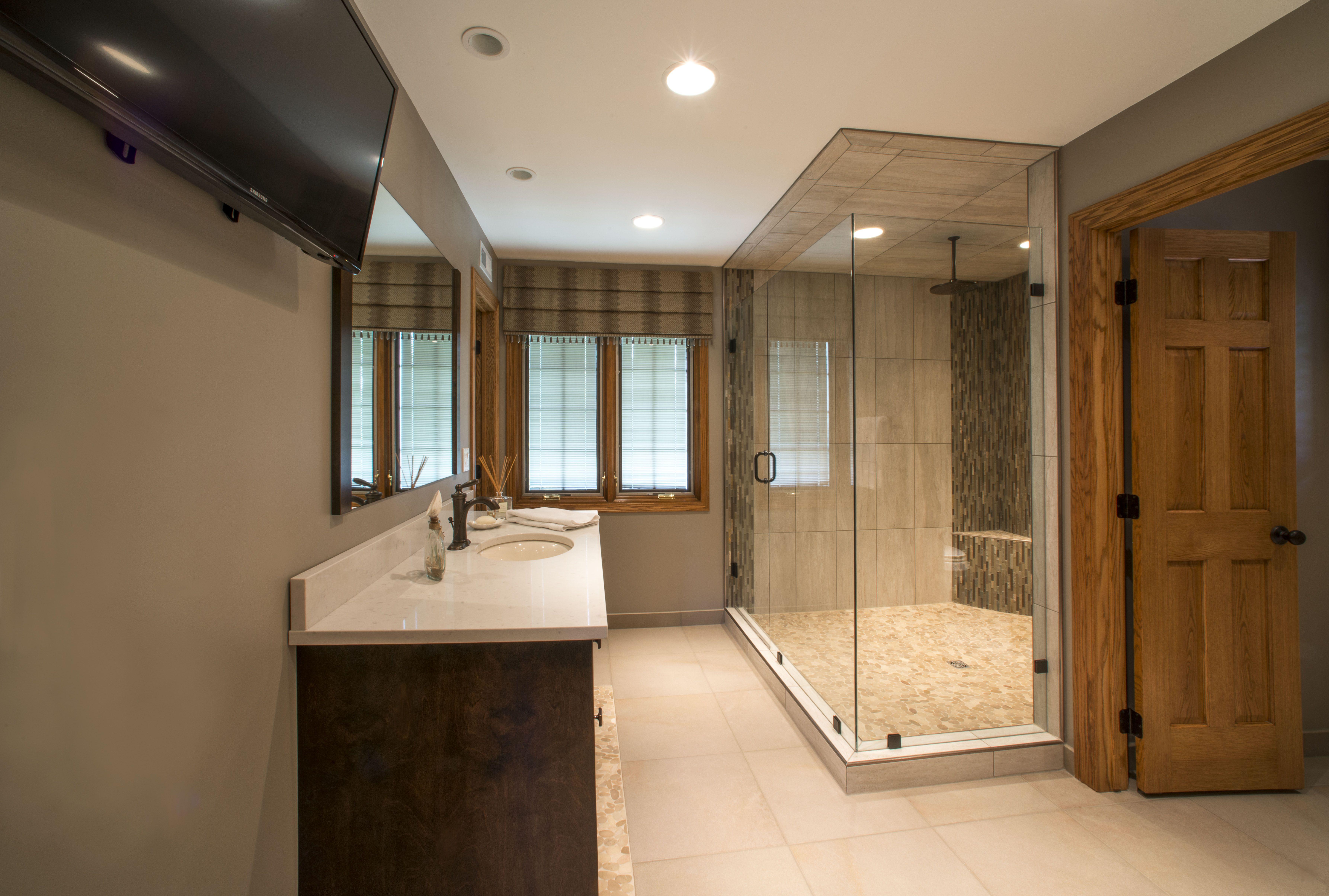 Master bedroom vs owners suite  Bathroom After Done by Designer and CoOwner Vicki Pierce ASID