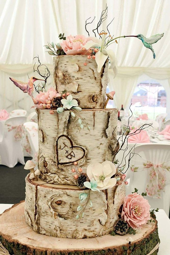 wedding cake rustic theme 39 must see rustic woodland themed wedding cakes themed 23736