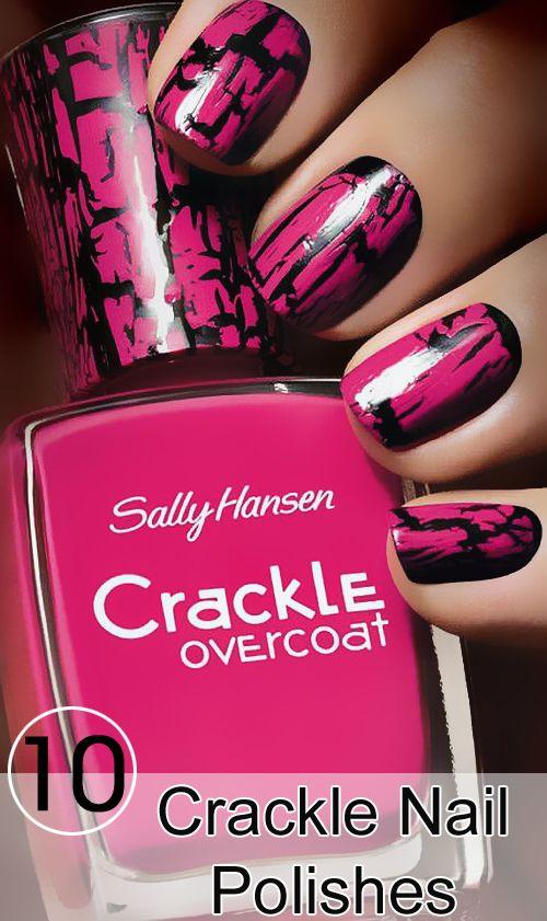 Best Nail Polish Colors For Olive Tan Light Medium Skins Crackle Nails Crackle Nail Polish Nail Polish