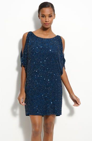 Aidan Mattox 'Cold Shoulder' Sequin Dress | Nordstrom - StyleSays ...