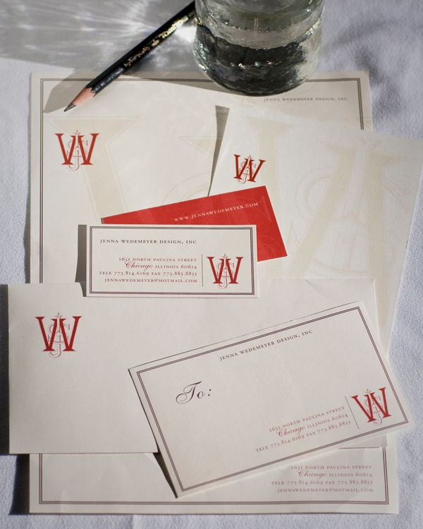 Claudia Engle Calligraphy nice set of business card envelope