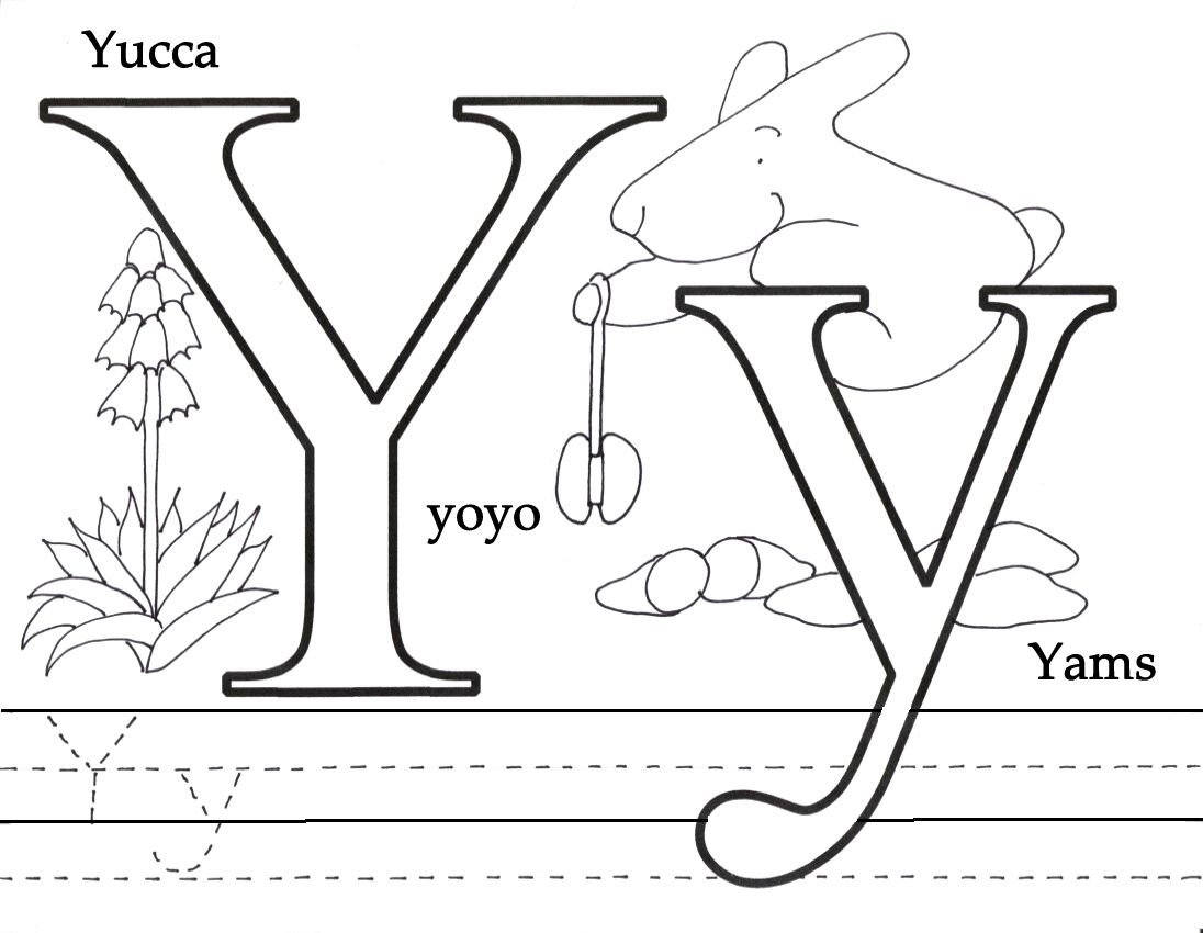 whole alphabet coloring pages - photo#27