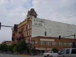 Historic Windsor Hotel Downtown Garden City Ks Windsor Hotel Garden City City