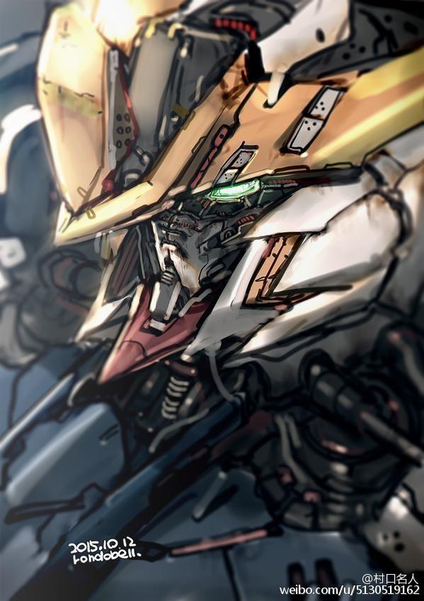 Gundam Barbatos ต วละครจากการ ต น การออกแบบต วละคร ต วการ ต นชาย