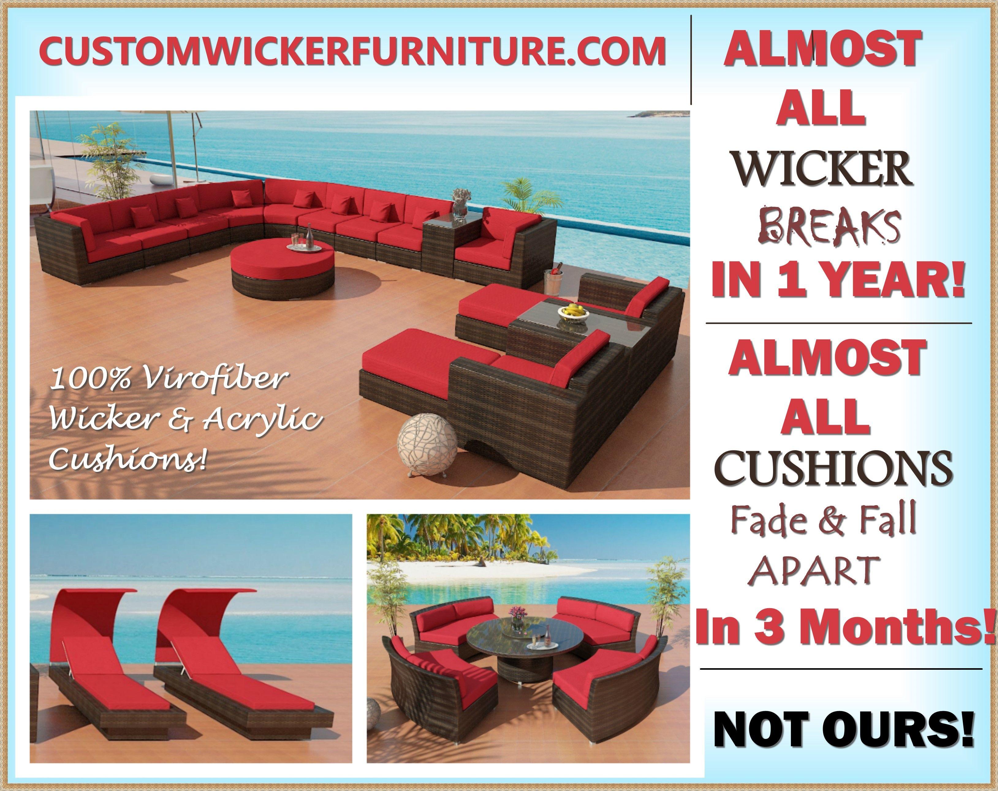 Wholesale Wicker Patio Furniture Www Customwickerfurniture Com