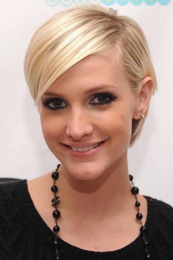 Kurze blonde haare bilder