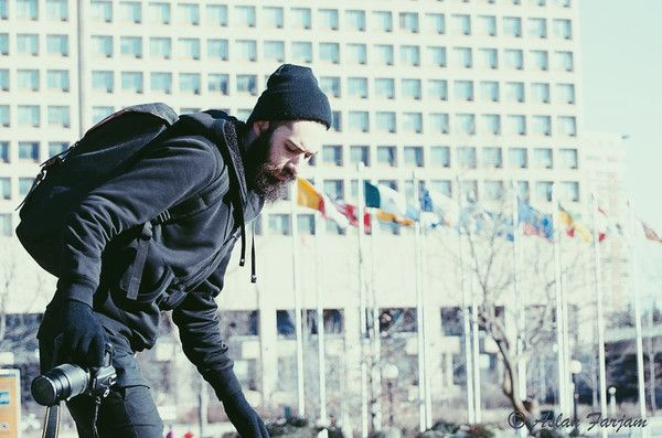 montreal photographer wearing all black // www.babesngents.com // #babesngents #iambabesngents