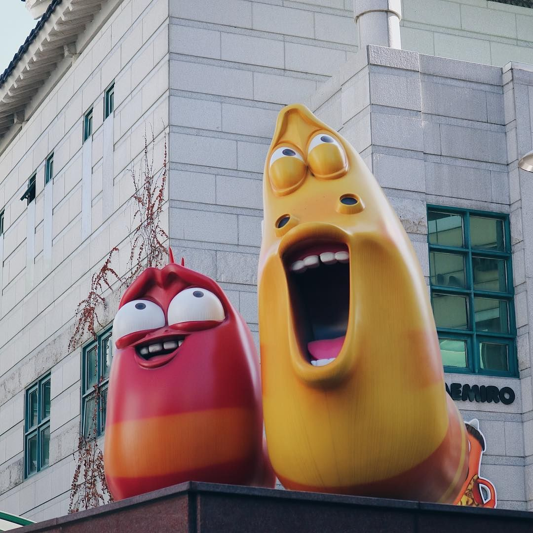 PAYDAY Face Larva Larvacartoon Seoul Namsan