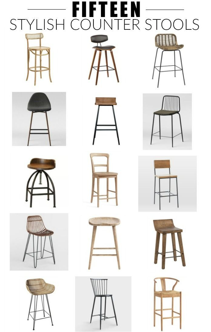 The Best Stylish Counter Height Stools Stools For Kitchen Island Counter Height Stools Kitchen Bar Stools