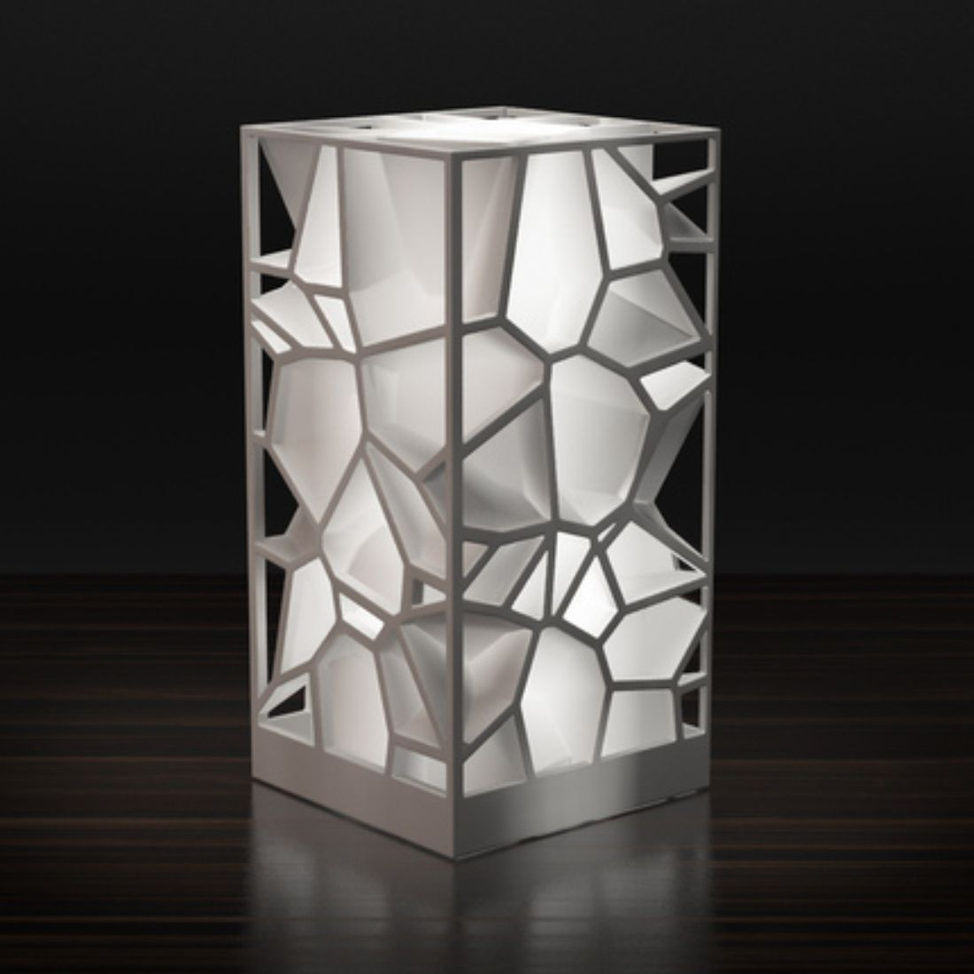 3d Printed Voronoi Lamp The Latest In Lighting And Interior Design
