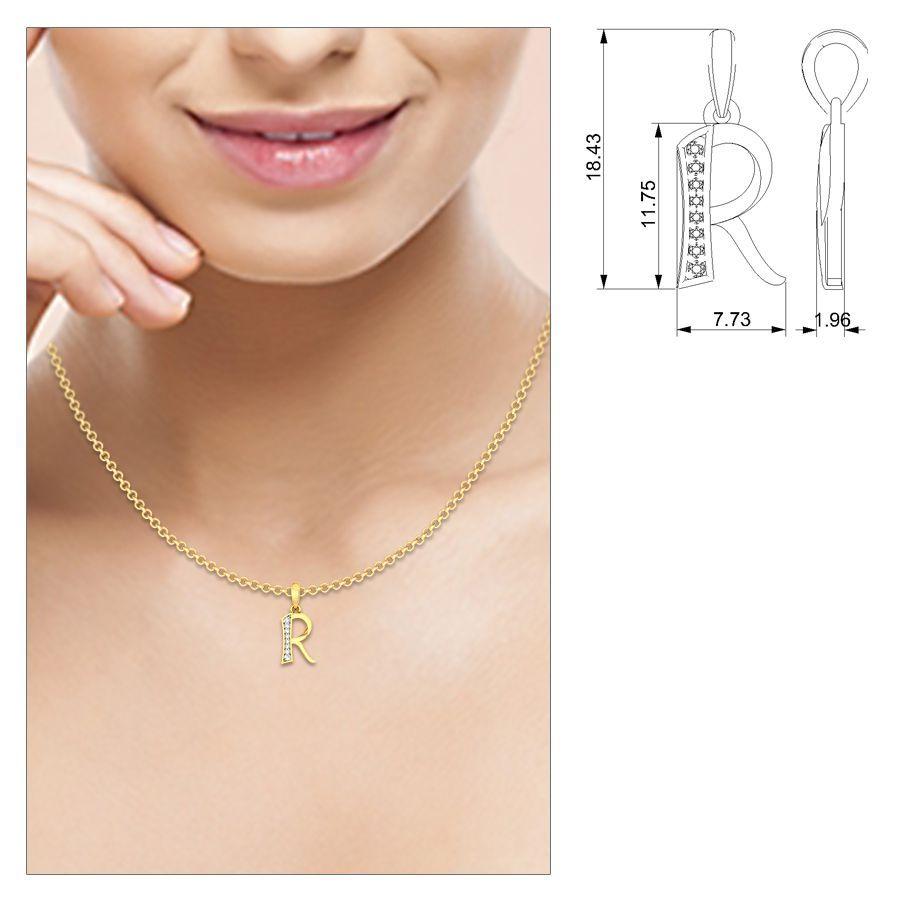 Ren diamond pendant welcountrypendantsren