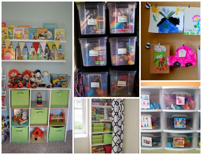 How To Organize Small Spaces 26 ways to organize toys in small spaces | small spaces