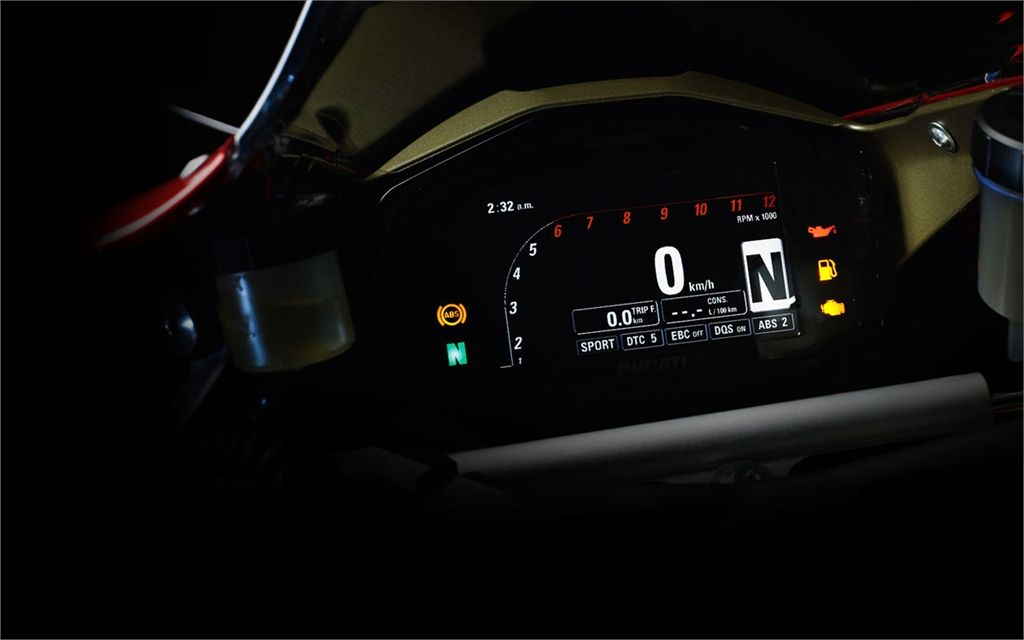 Ducati 1199 Panigale (2012) -