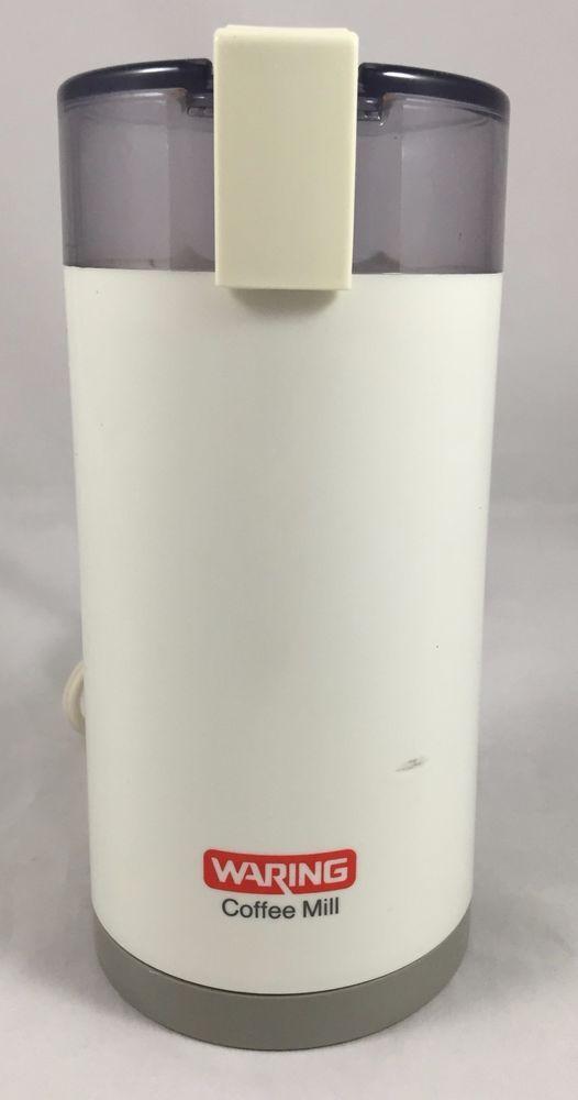 Dazey Fruit Juicer ~ Waring coffee mill grinder cm burr bean white tested
