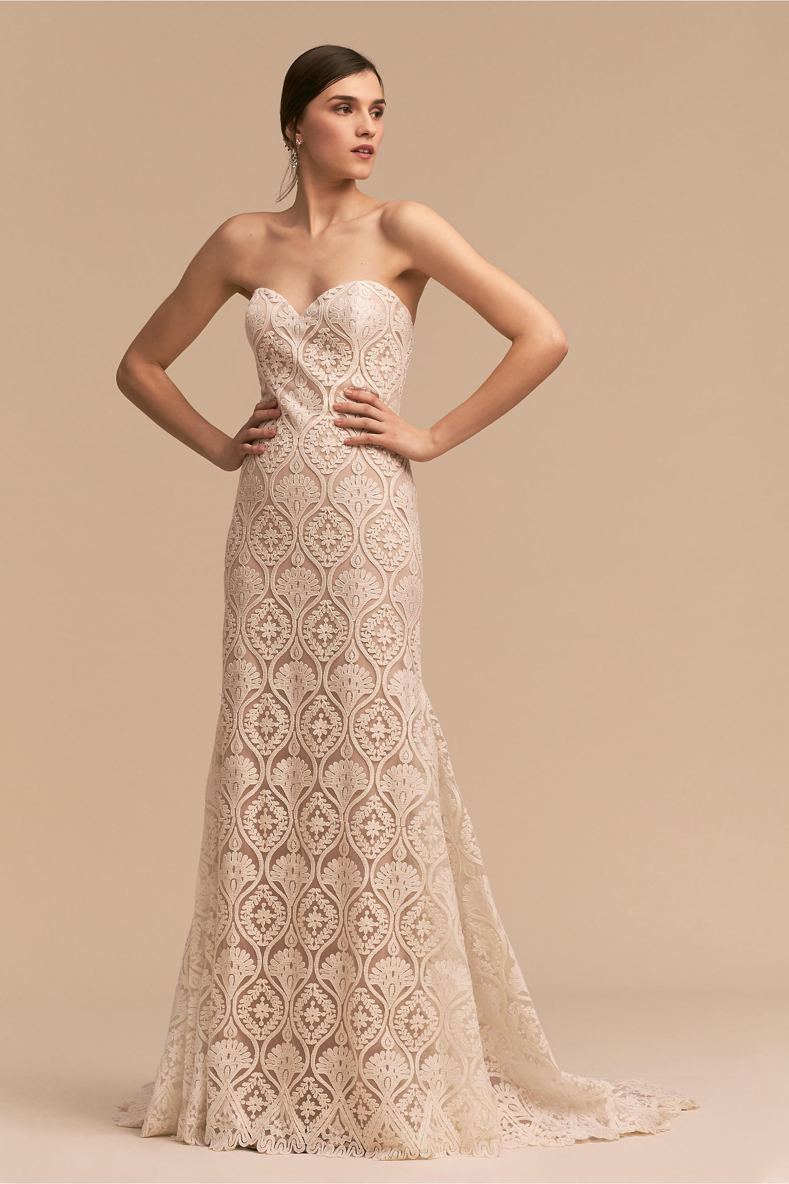 754490969f BHLDN s Whispers   Echoes Lilac Gown in Ivory nude