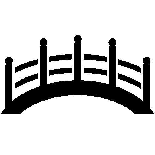 Japanese Bridge Free Vector Icons Designed By Freepik Free Icons Vector Icon Design Bridge Logo