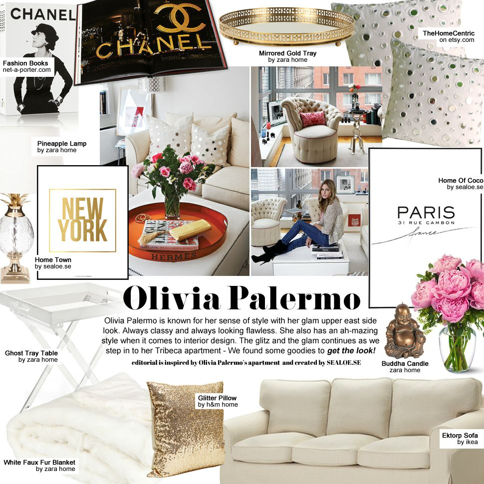 Olivia Palermo Apartment Google Search Home Decor Apartments Gallery Wall