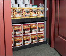 Preparedness Pantry - Food Storage, Emergency Preparedness, Emergency Kits, Water Storage: Creative Storage Solutions