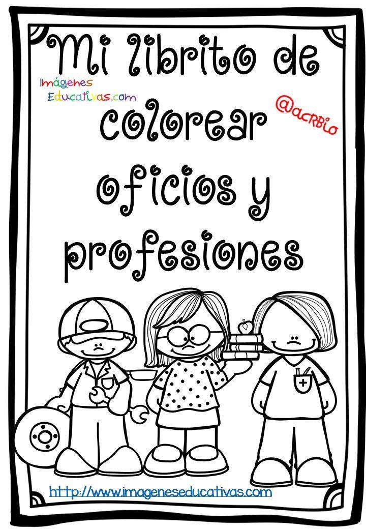 Mi librito de colorear oficios y profesiones | Pinterest ...