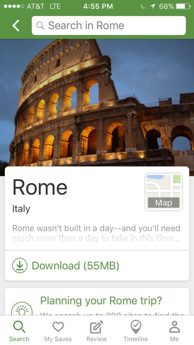 Tripadvisor Destination 2 Rome Map Rome Travel Trip Advisor