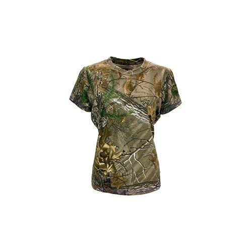Womens Short Sleeve Tshirt Realtree Xtra Medium