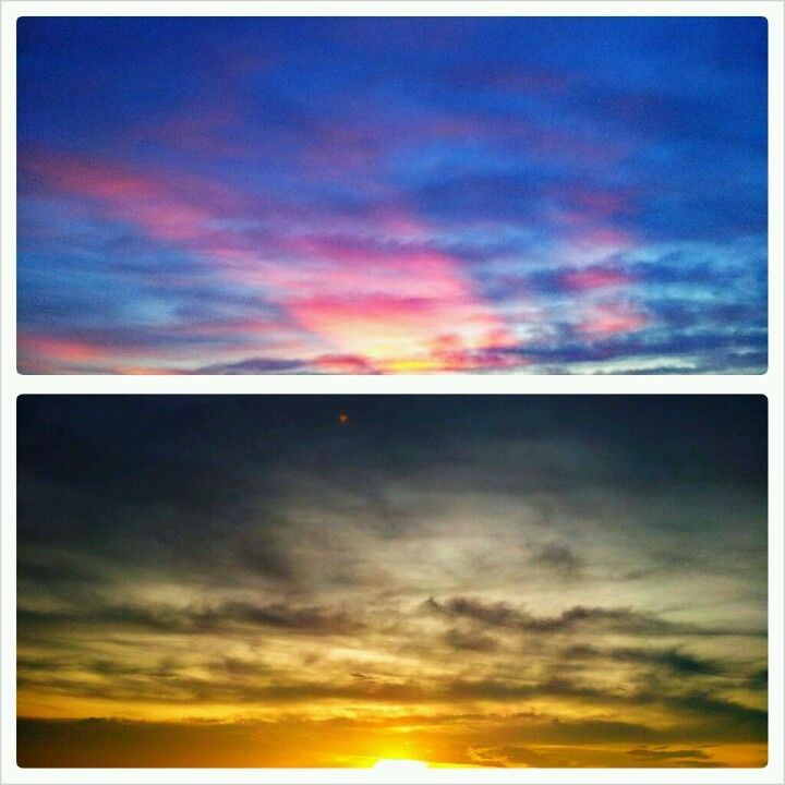 Colours of the skies.