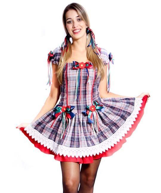Veja aqui maravilhosos modelos de vestido de festa Junina 2017. Confira  dicas de lojas 651d9678810
