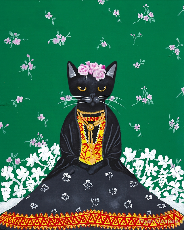 Frida Catlo by Ryan Conners