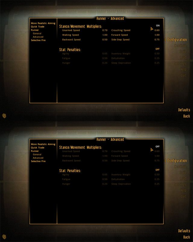 The Mod Configuration Menu at Fallout New Vegas - mods and community