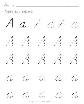 Nealian handwriting practice includes more 500 ready-to-print ...