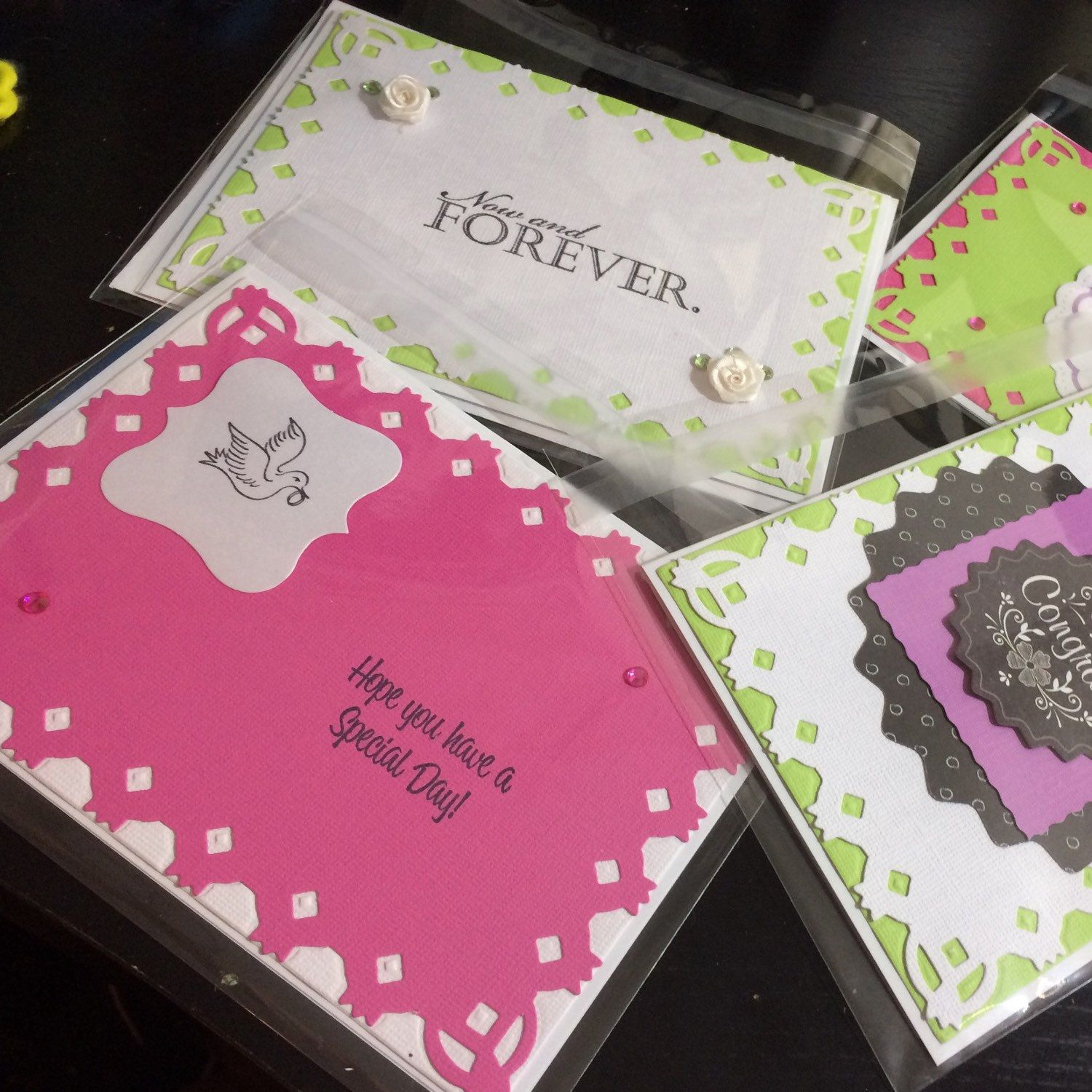 Wedding cards are now available! Brighten their day, the handcrafted way!