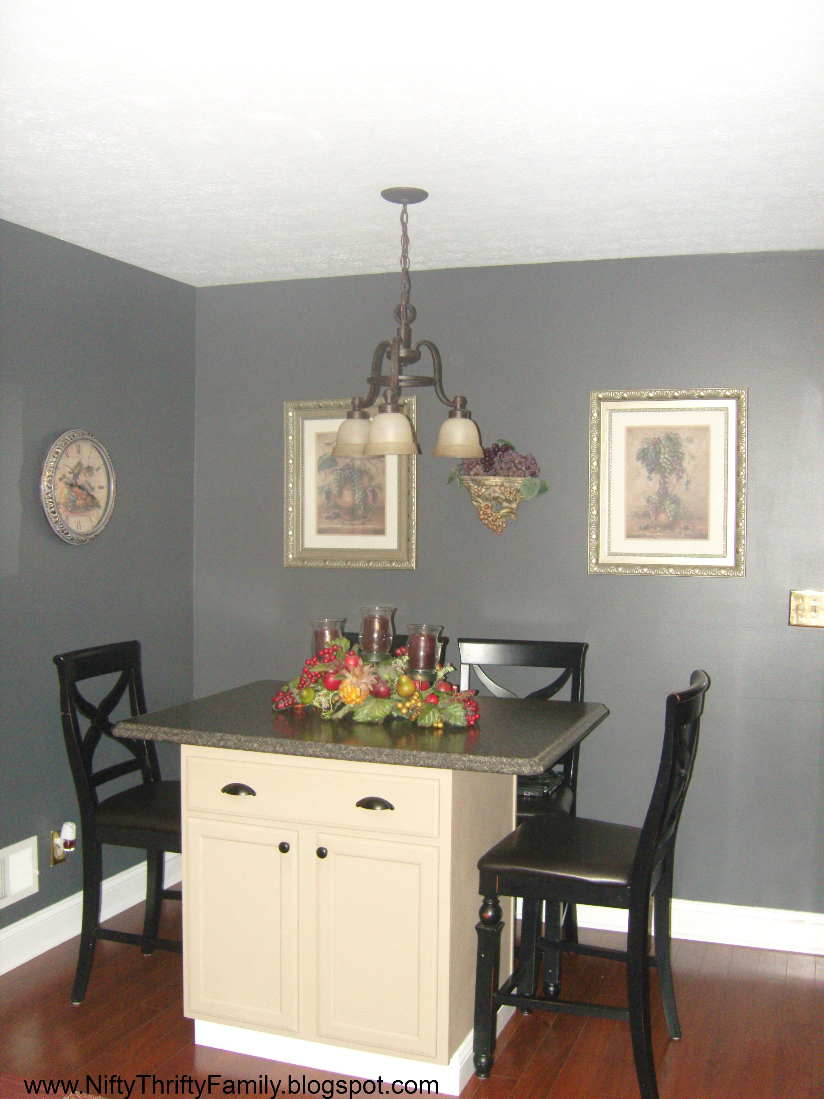 Benjamin Moore Stormy Gray Warm Colors Nifty Paint Dream
