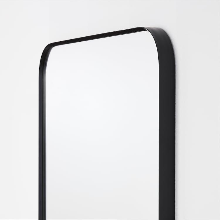 Lindbyn Spiegel Zwart 60x60 Cm Ikea In 2020 Black Bathroom M