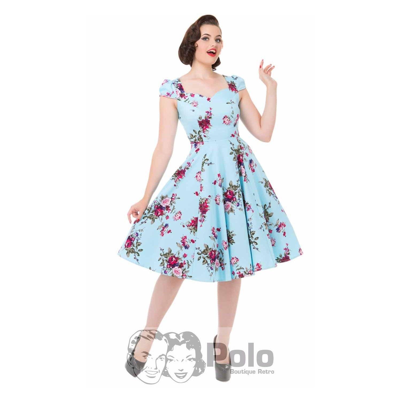 ROYAL BALLET Vestido Swing de tarde 50s | Polo Boutique Retro ...