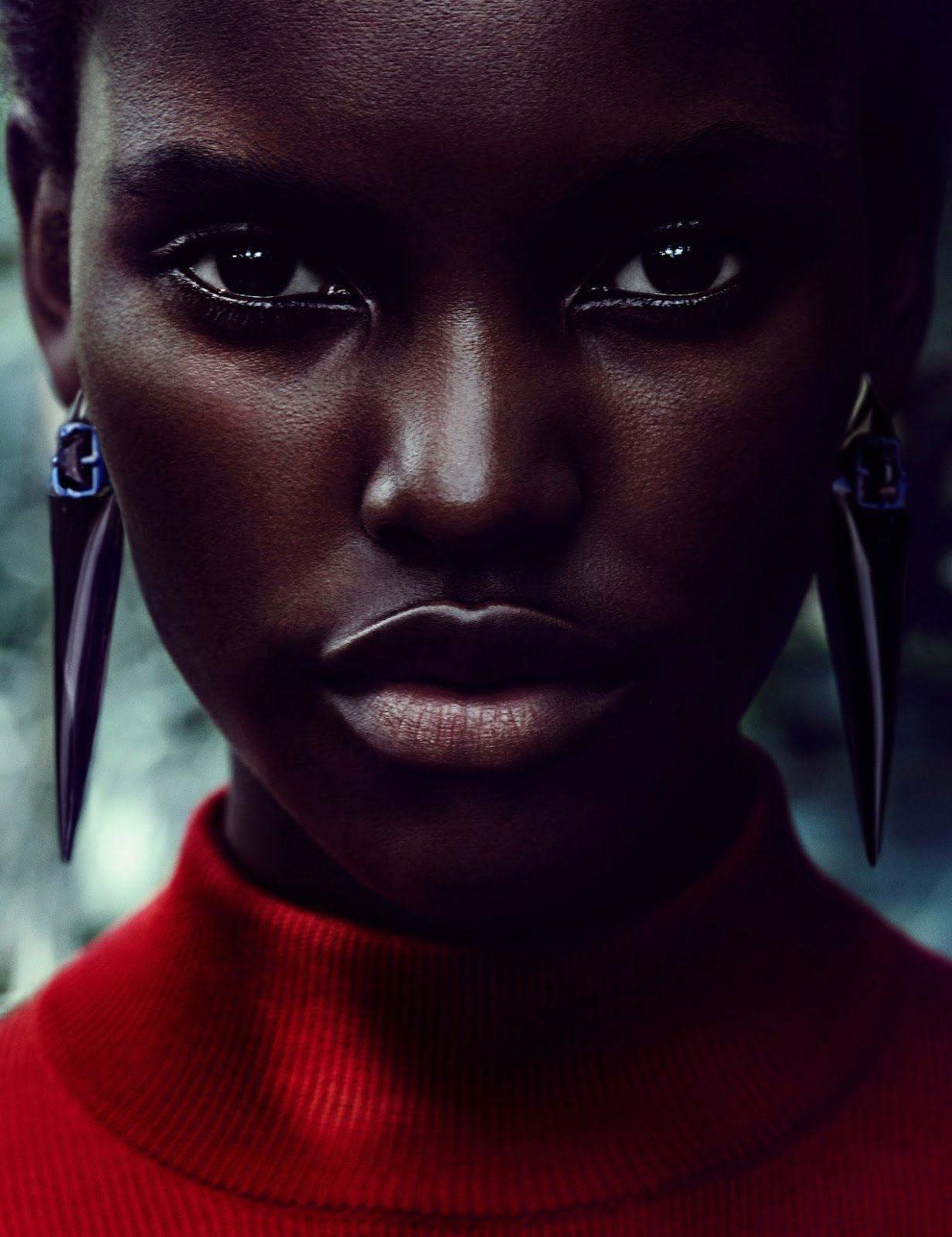 Stunning beauty carnation peau pinterest belles femmes noires portrait f minin et visage - Carnation de peau ...