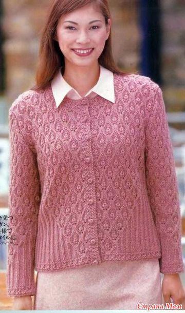Vestoane de încălzit cu ace. - Moda tricotate + la NEMODELNYH LADIES - acasă Mamele