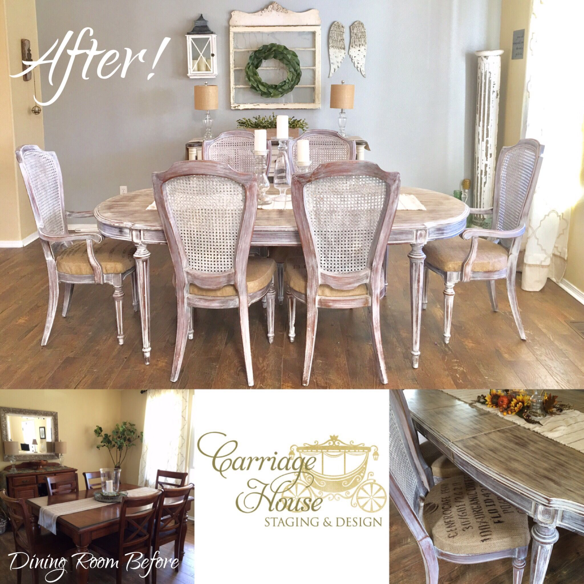 Home Staging Dining Room Table: Carriage House Staging & Design LLC